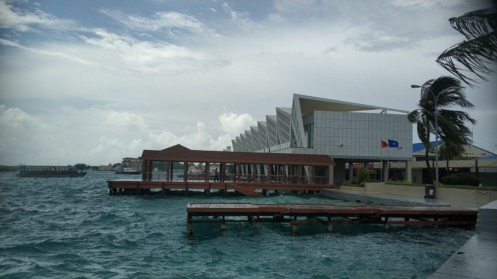 Airport Maldives ferry port