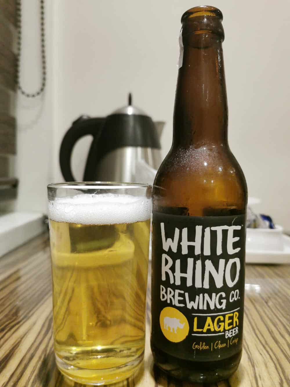 White Rhino Brewing, Lager. india craft beer