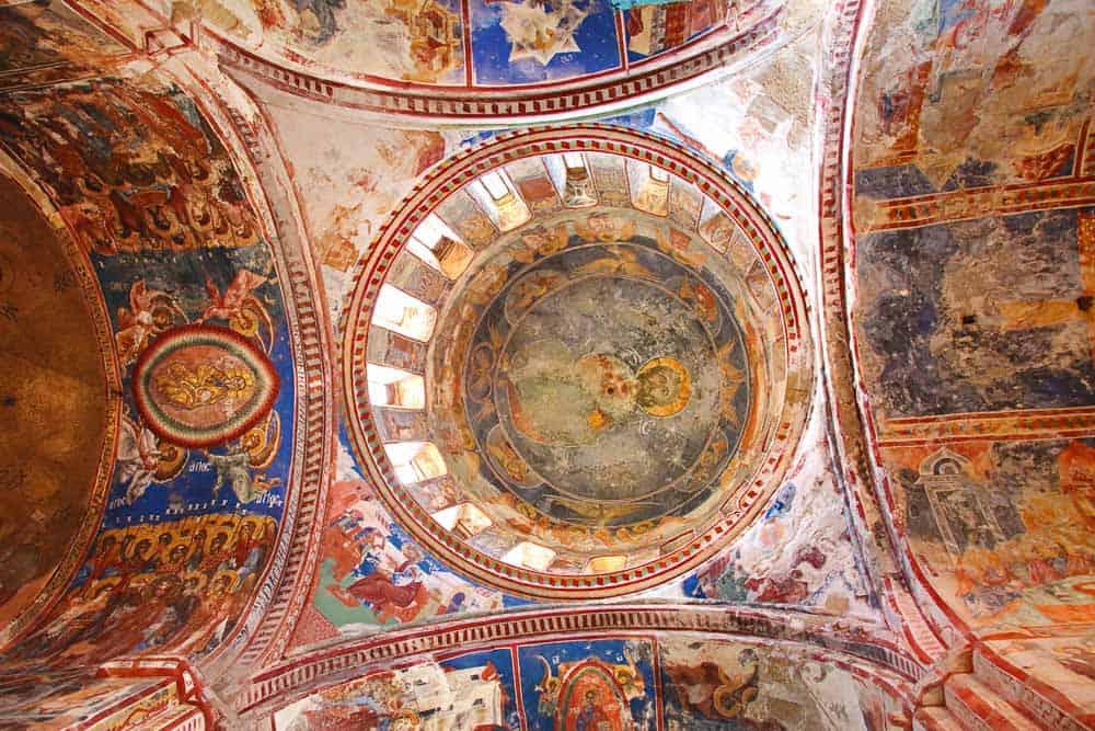 Inside Gelati Monastery Georgia