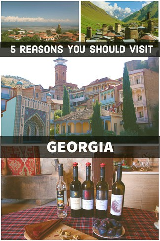 Why you should visit Georgia the tinny country in Caucasus