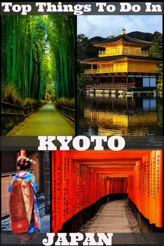Top Things in Kyoto japan