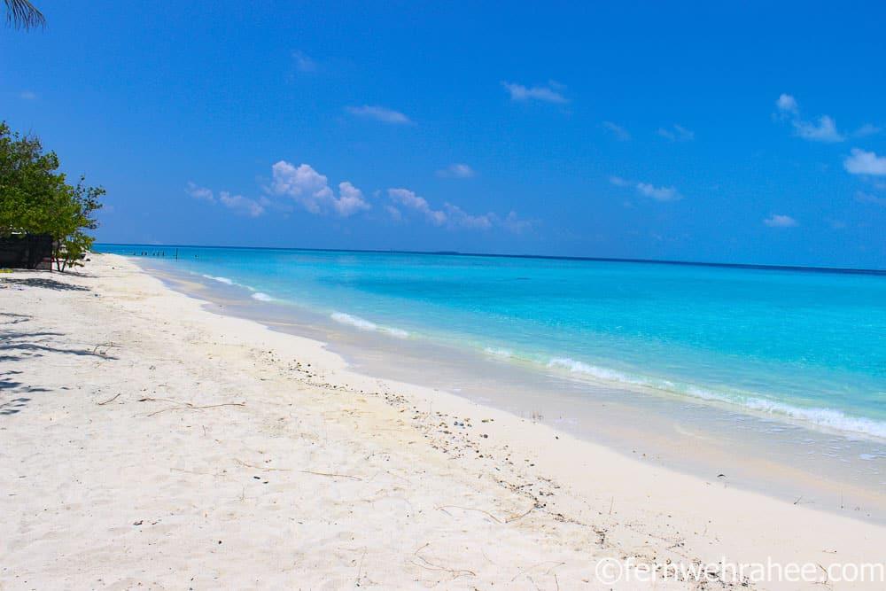 Gulhi local island Maldives