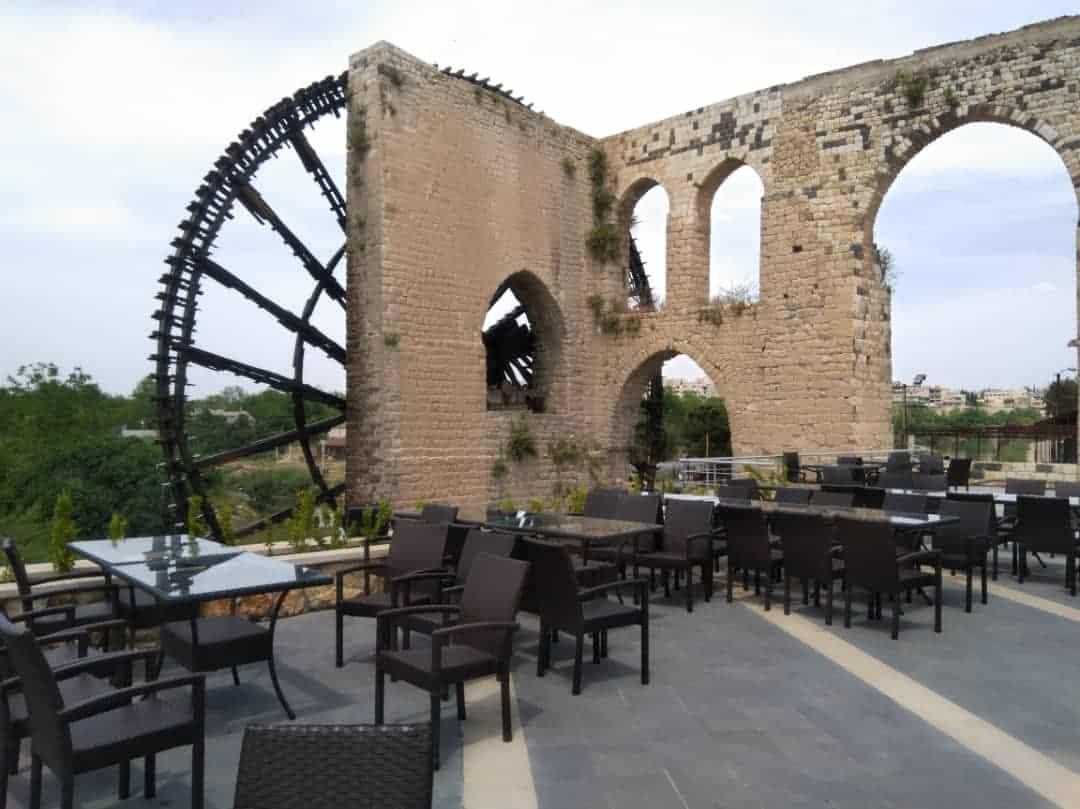 Hama waterwheels Syria