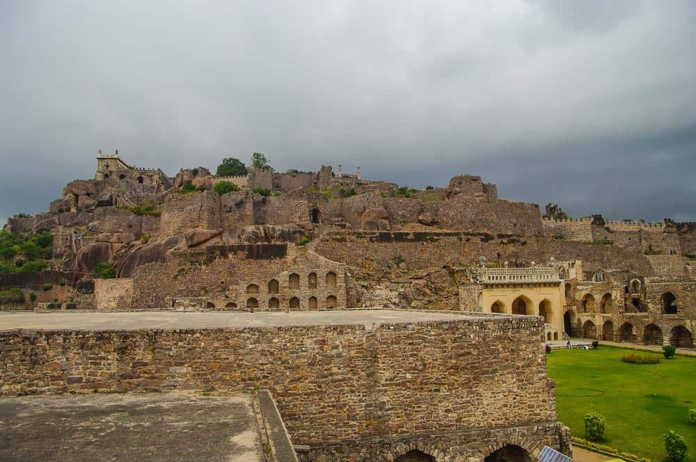 Golconda Fort in india