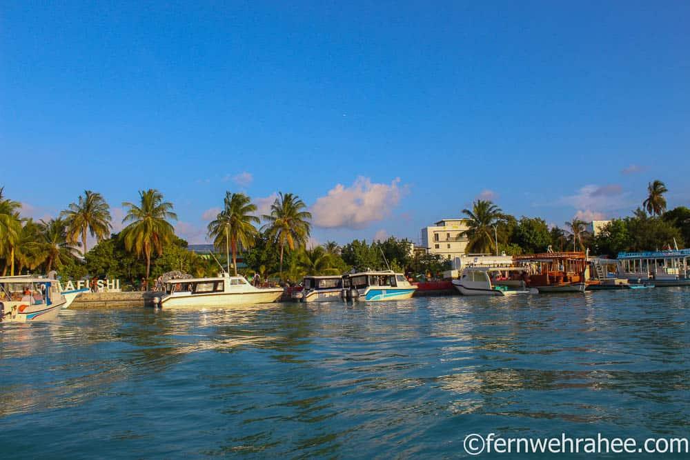 Maafushi jetty