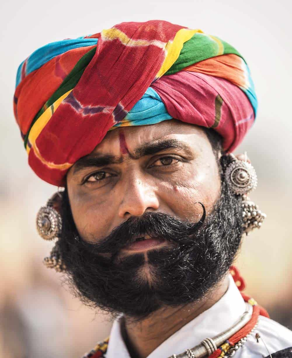 mustache india
