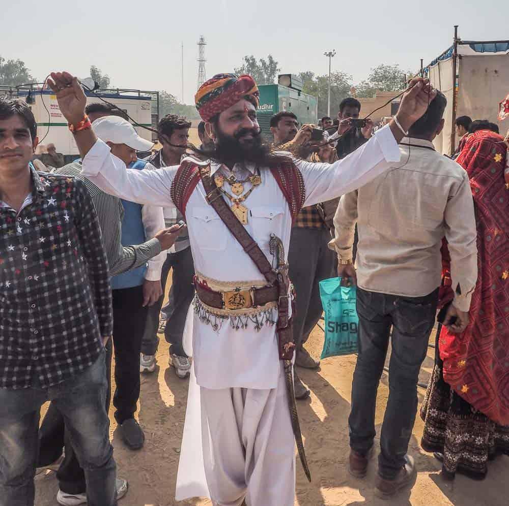 Mustache festival india