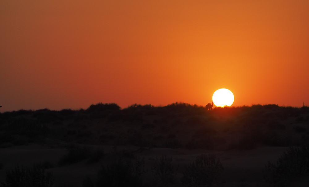 Jailsamer sunset