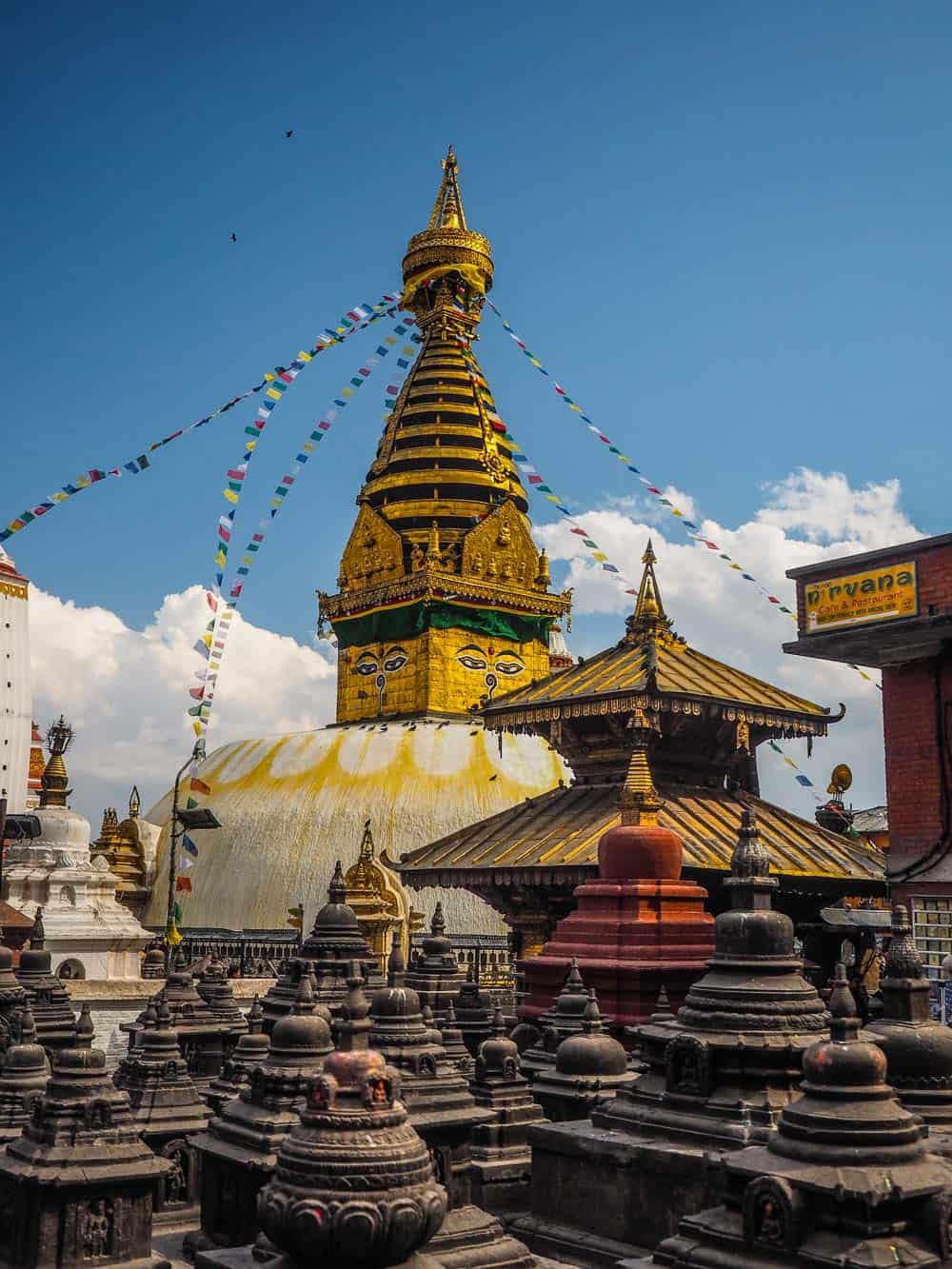MonkeyTemple/Swayambhunath kathmandu nepal