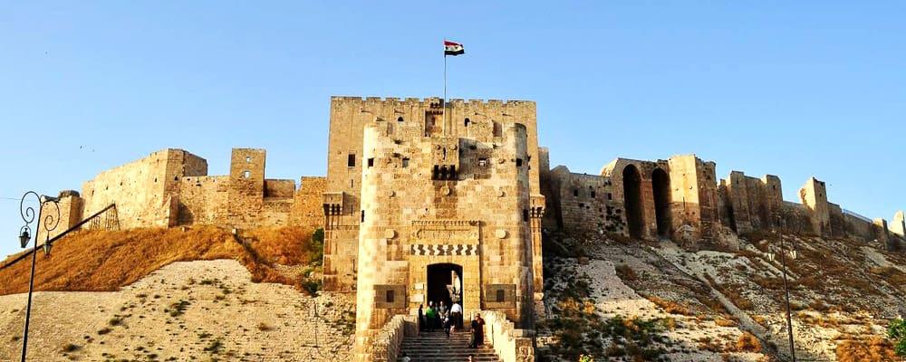 aleppo citadel 2020 syria