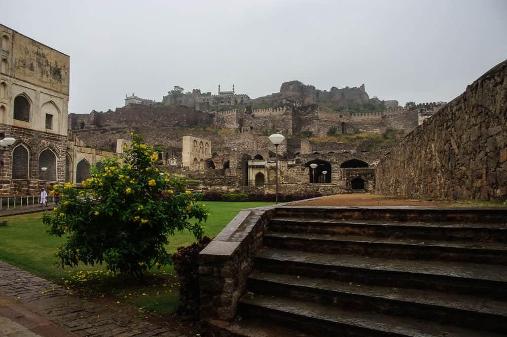 Golconda Fort India