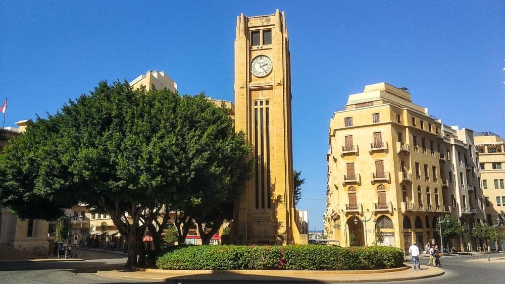 Nijmeh Square clock