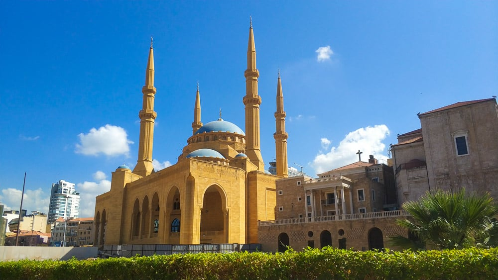 Beirut blute mosque