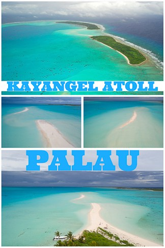 travel guide to Kayangel atoll in northern Palau