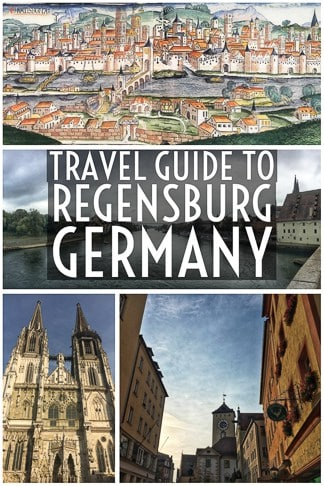 Travel Guide To Regensburg in Bavaria in southern Germany