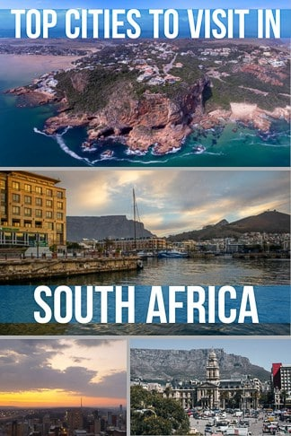 Top places and cities to visit in South Africa