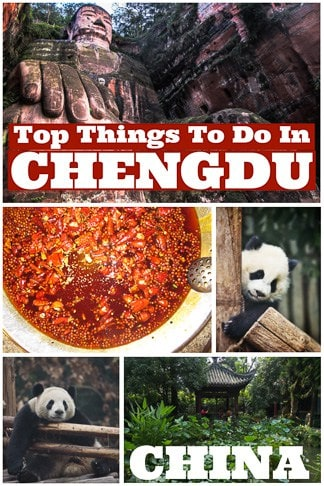 Top Things To do In Chengdu the largest city in Sichuan China