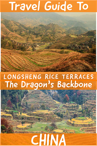 Travel guide to. Longsheng/Longji Rice Terraces the dragon´s backbone a natural wonder and must visit in southern part of China