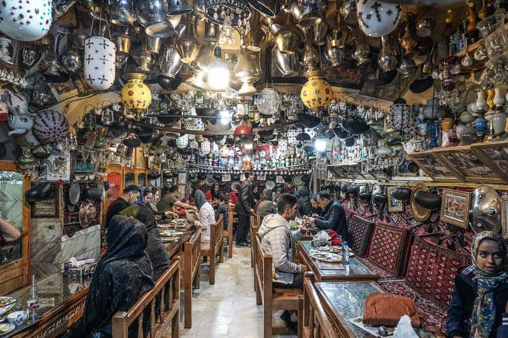 Azadegan cafe esfahan iran