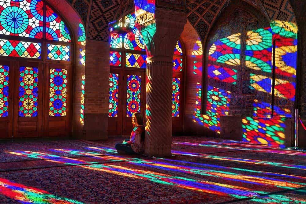 Pink mosque Shiraz