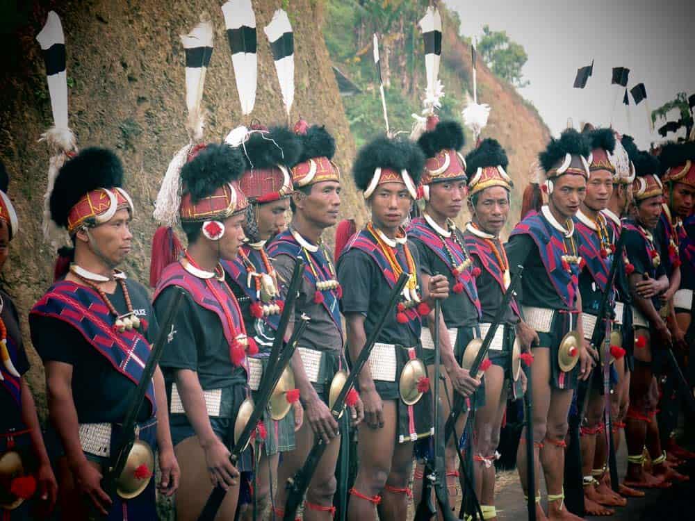 nagaland Aoleang festival