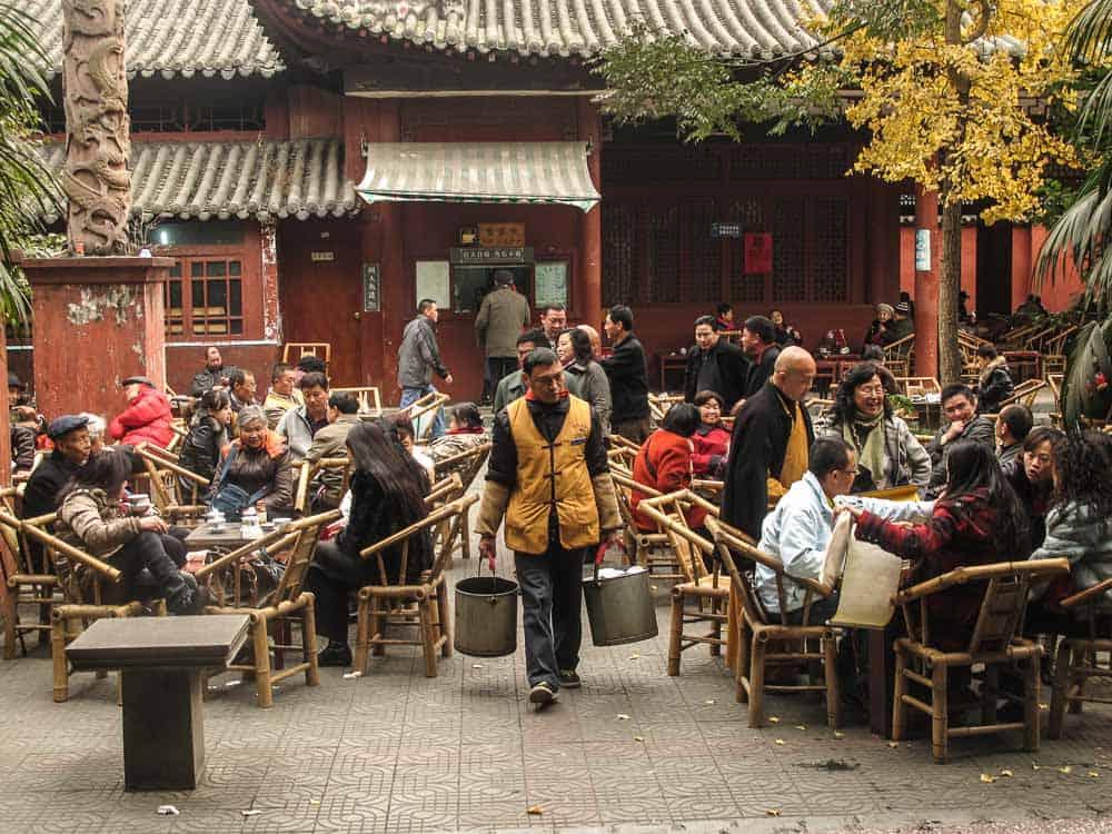 tea house chengdu