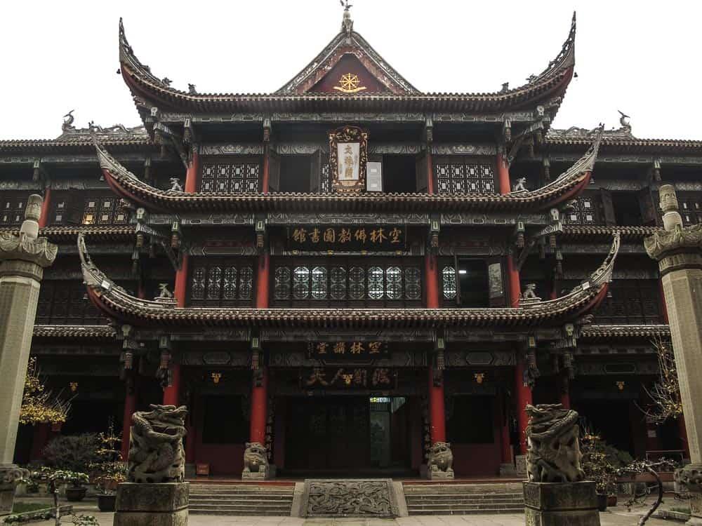 Wenshu Yuan Monastery Chengdu