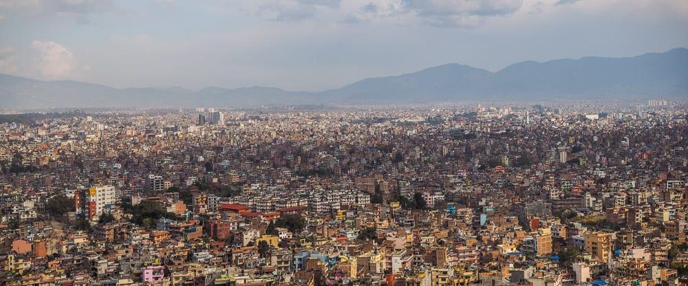 view of kathmandu nepal