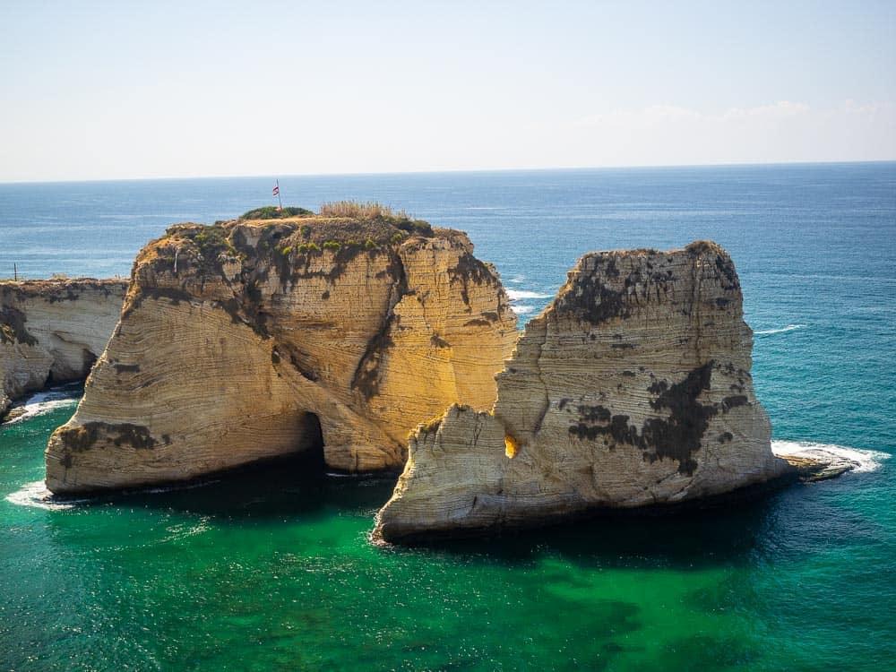 Pigeon Rocks Beirut