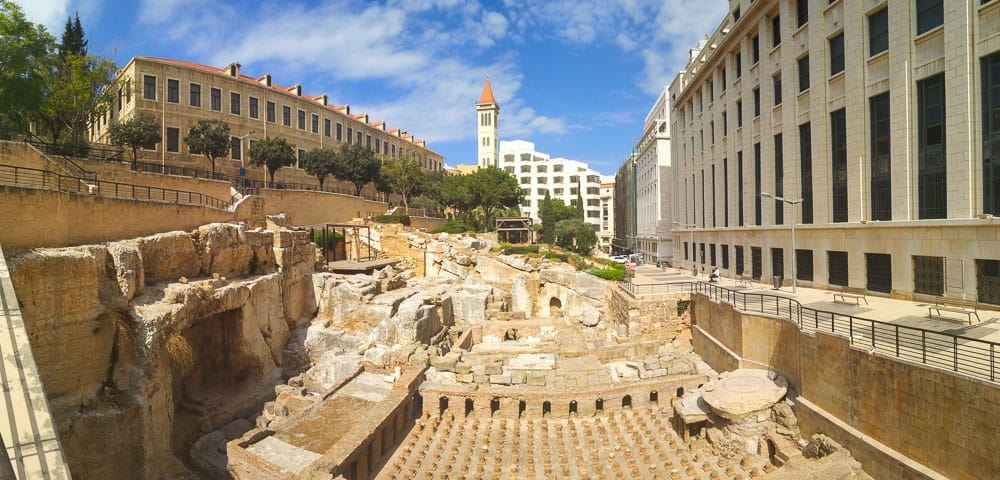 Ancient Roman Baths Beirut