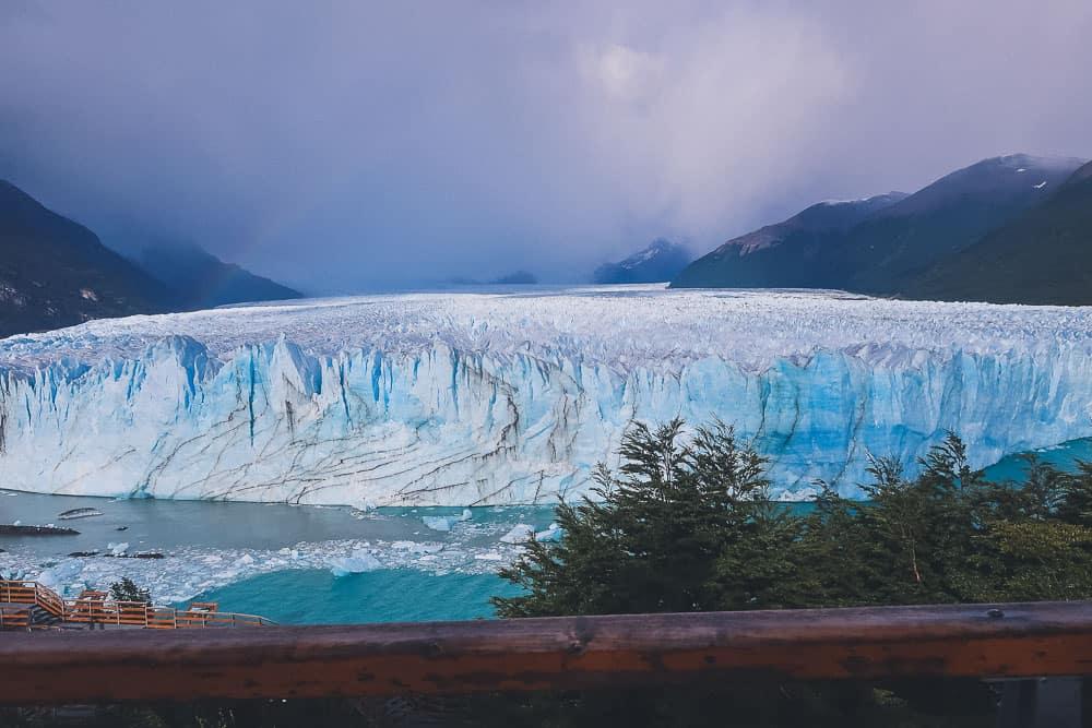 Perito Moreno from walkways