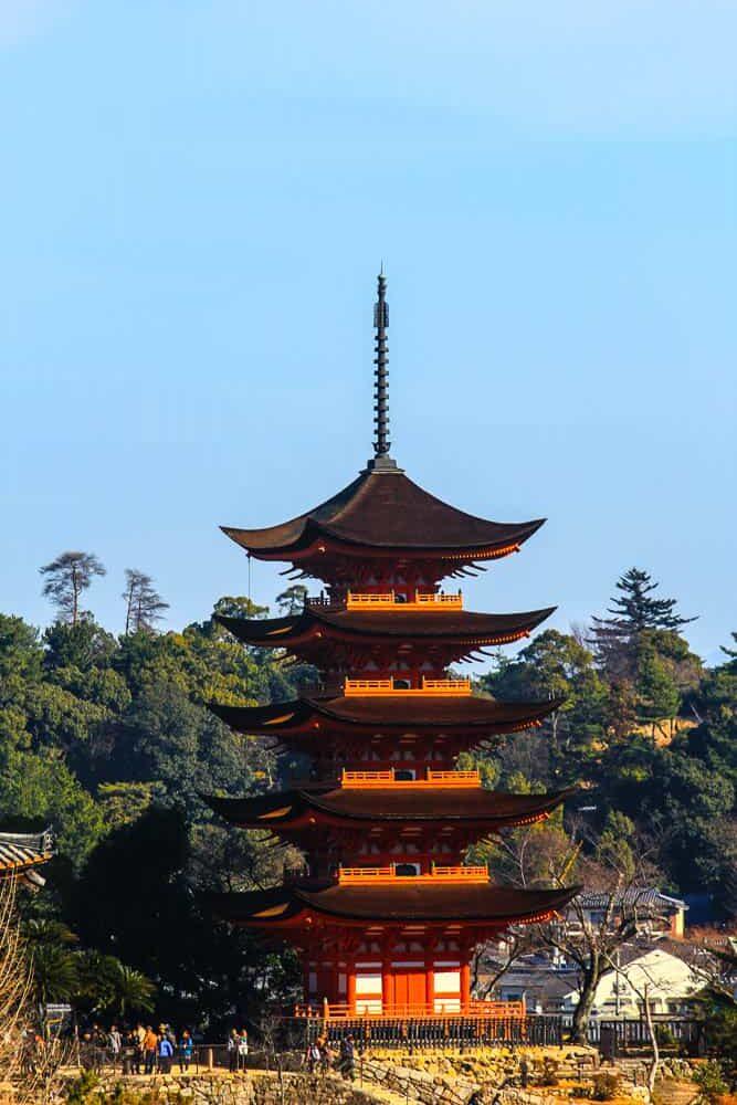 Five-Story Pagoda on Itsukushima
