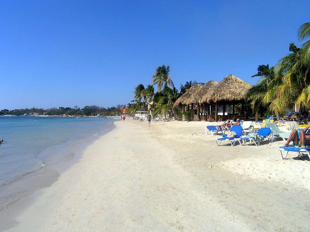 Seven Mile Beach (Negril Beach) Jamaica