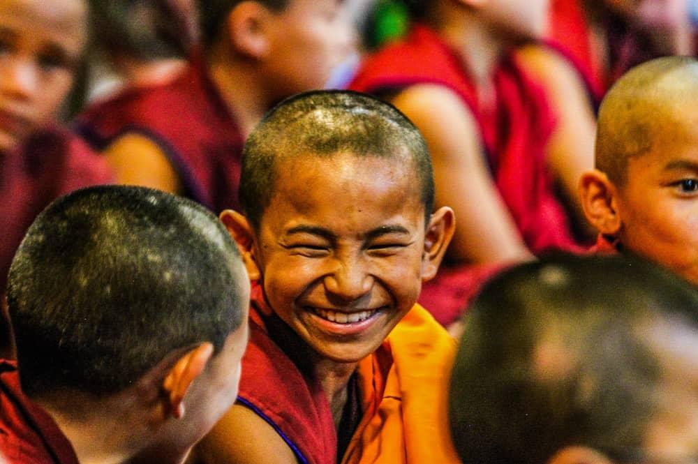 A young Monk at Kopan Monastery