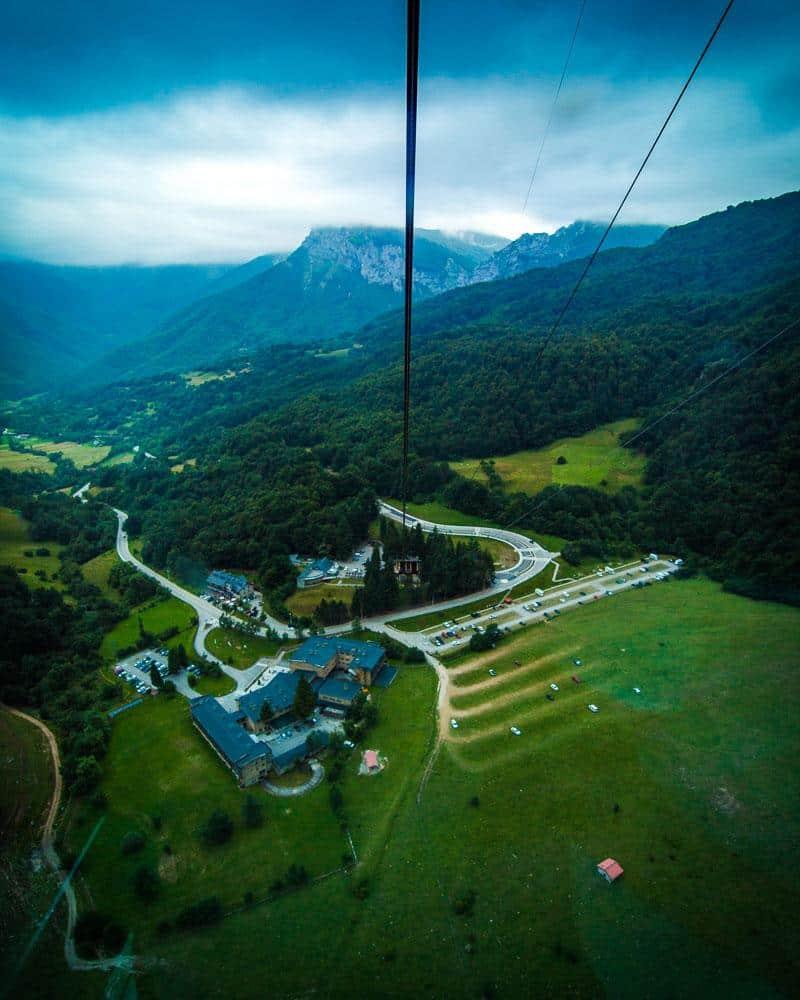 Picos de Europafuente de cable car picos