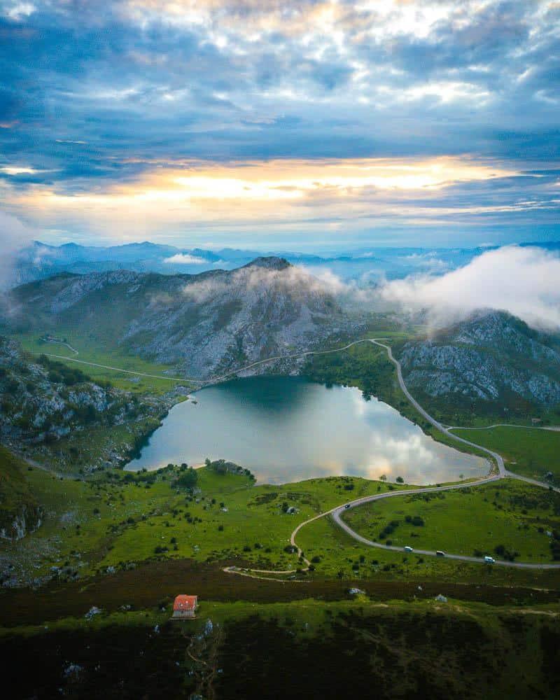 Picos de Europa lagos de covadonga