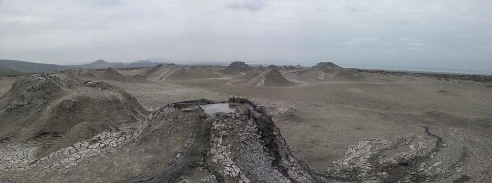 Mud Volcanoes at Gobustan National Park Baku