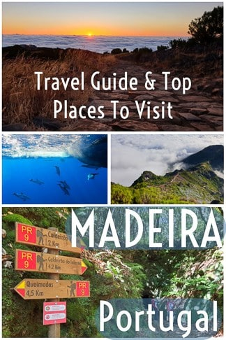 Travel guide for top things and places to visit in Madeira island, Portugal