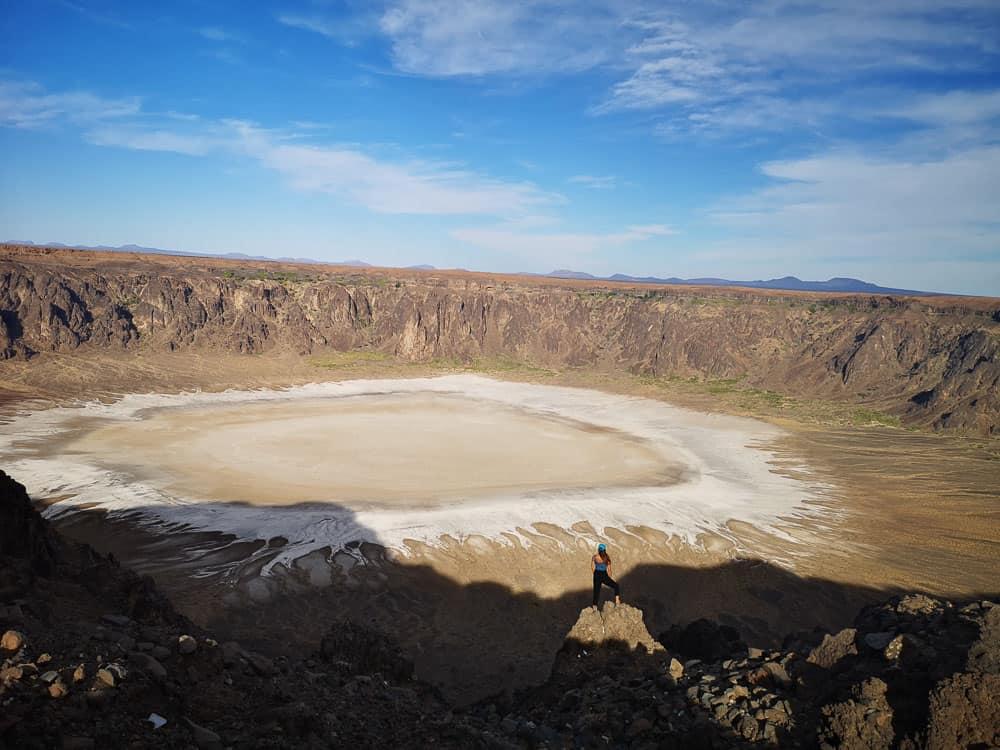 Al Wahbah Crater saudi arabia