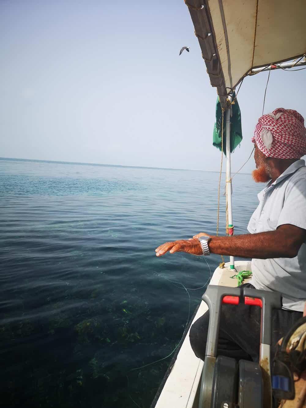Fisherman from Farasan Islands