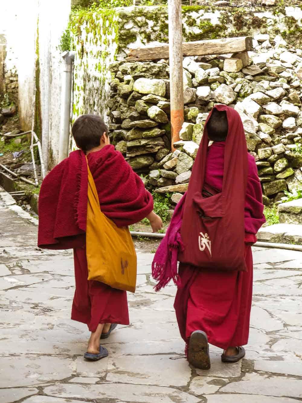 monks arunachal pradesh