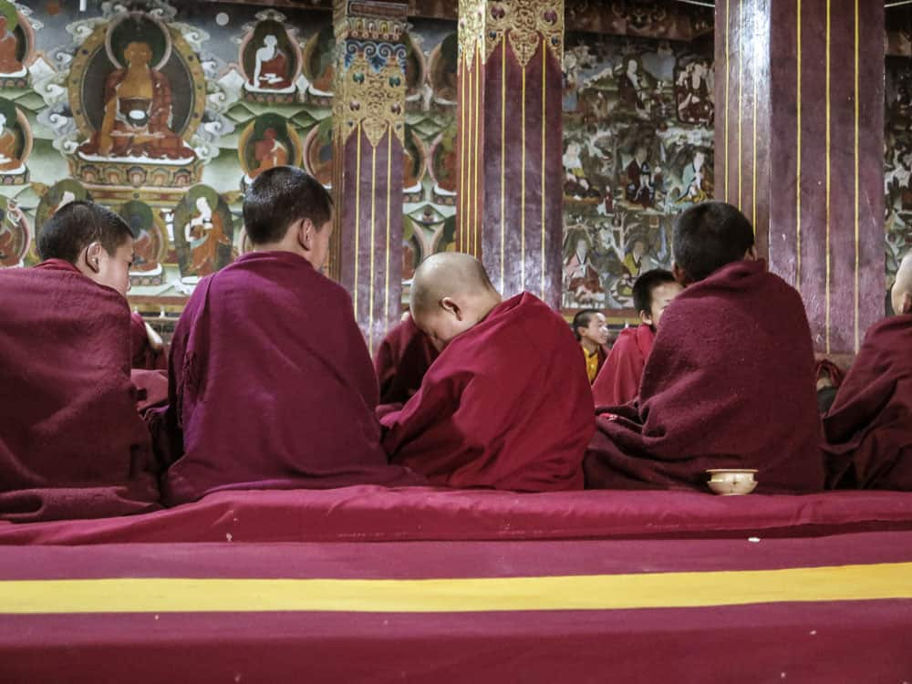 monks tawang