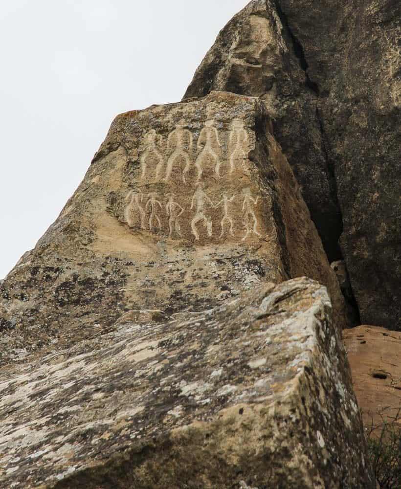 Petroglyphs at Gobustan National Park