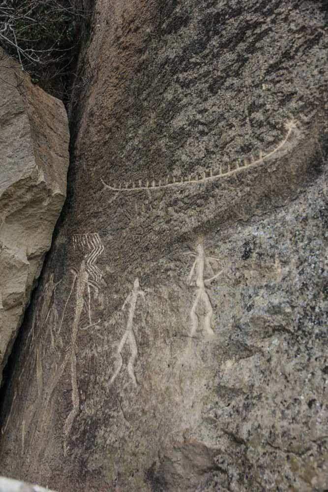 Petroglyphs and Mud Volcanoes at Gobustan National Park outside Baku