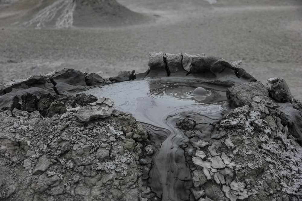 Mud Volcanoes at Gobustan National Park
