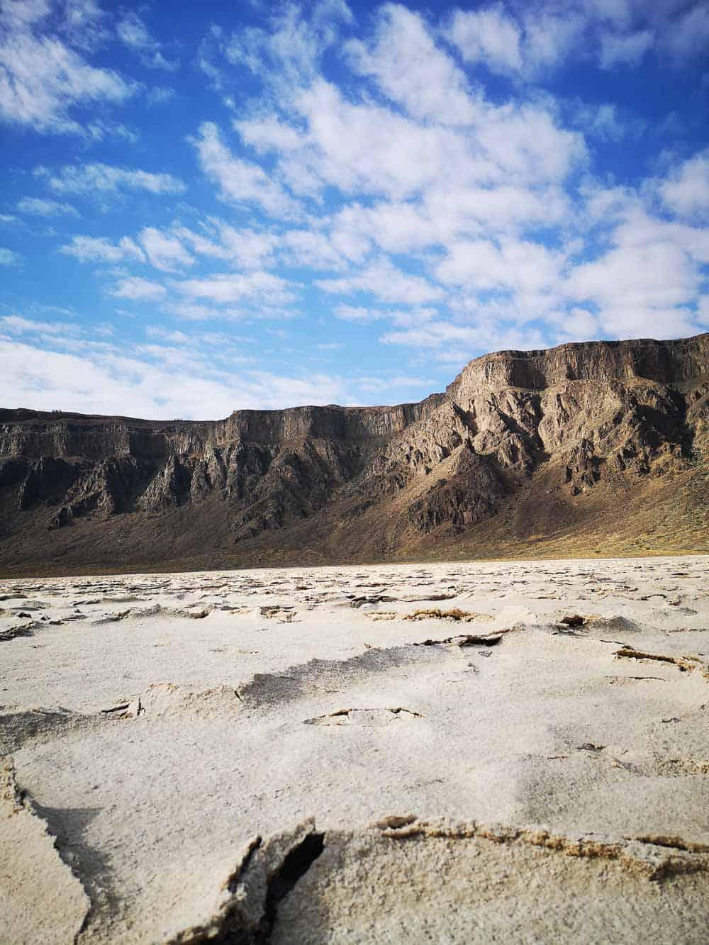 Inside Al Wahbah Crater