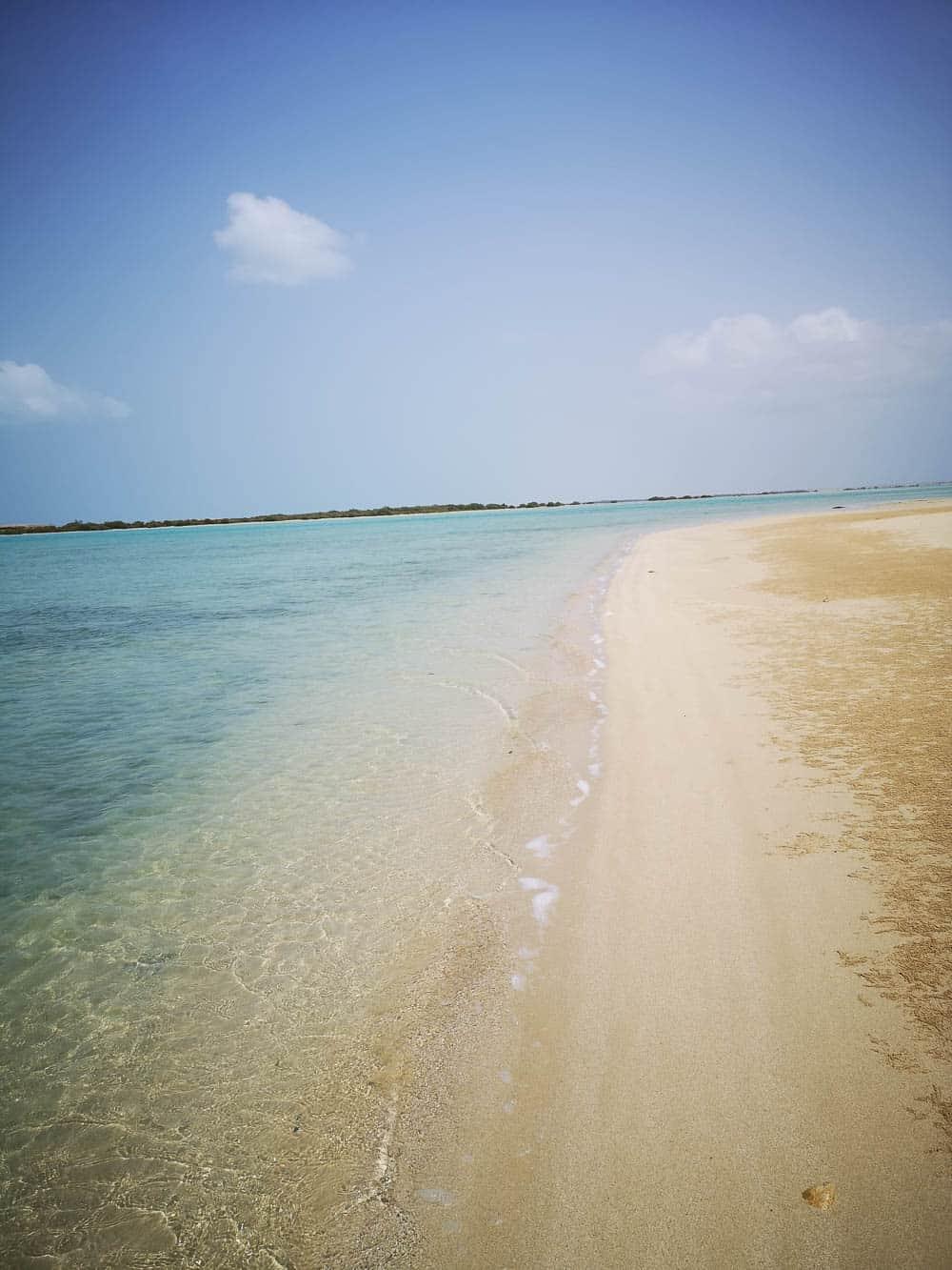 Farasan Island beach