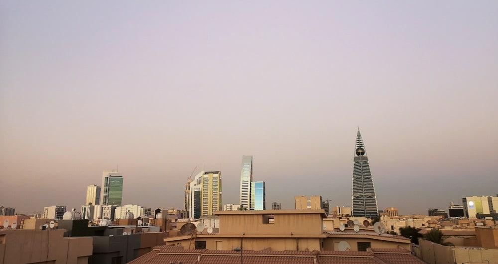 Skyline of Riyadh saudi arabia