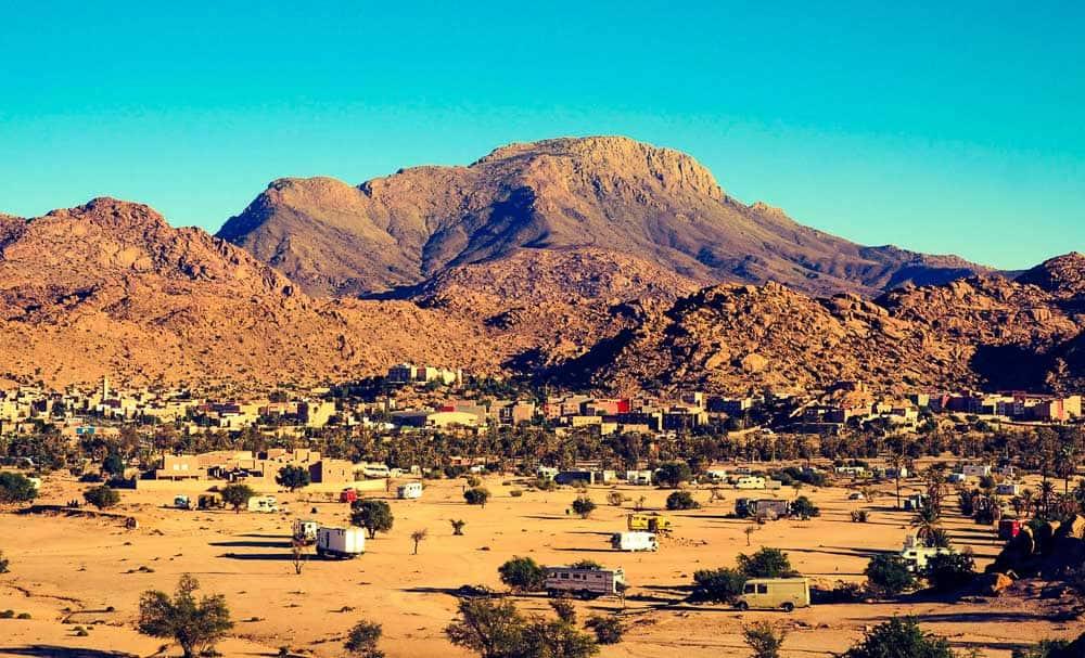 Morocco Tafroute valley