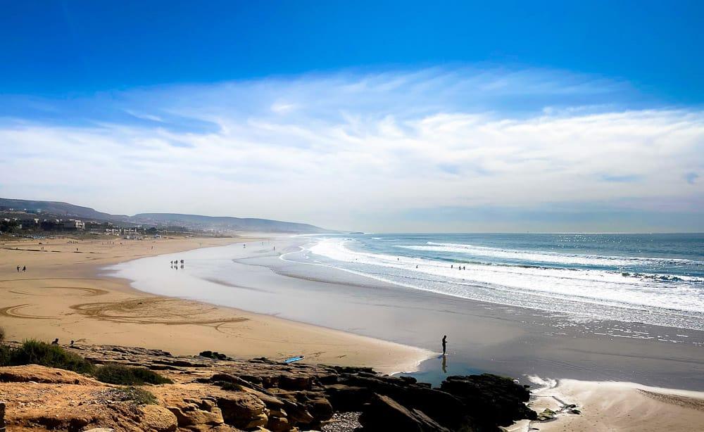 Taghazout - beach Morocco